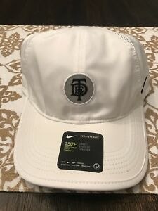 74bb8add836 TDE Nike Kendrick Lamar DAMN Championship Tour Pop Up Hat White Cap ...