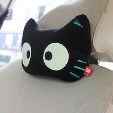 1Pcs New Black Cat Luminous Eyes Car Seats Head Neck Protecting Rest Pillow Hot