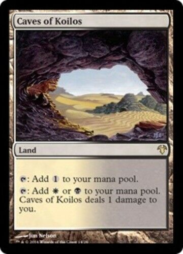 English Modern Event Deck MTG Magic 4x Caves of Koilos NM-Mint