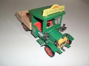 Camion de transport Playmobil 5640, vert, série Vintage, camion de nostalgie, rose