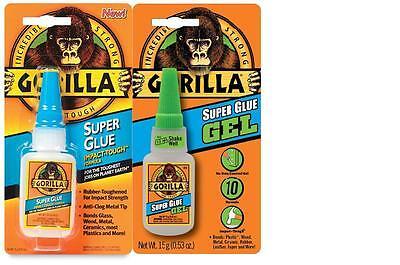 15g Flasche Gorilla Selbstklebend Klebe Sekundenkleber Verschiedene Arten Schrumpffrei