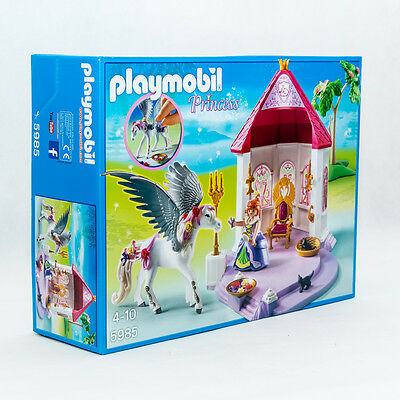 Playmobil 5985 Princess Prinzessinnen Pavillon mit Pegasus NEU OVP