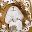 Stanzschablone-Hase-Kranz-Tier-Hochzeit-Weihnachts-Oster-Geburtstag-Karte-Album Indexbild 3