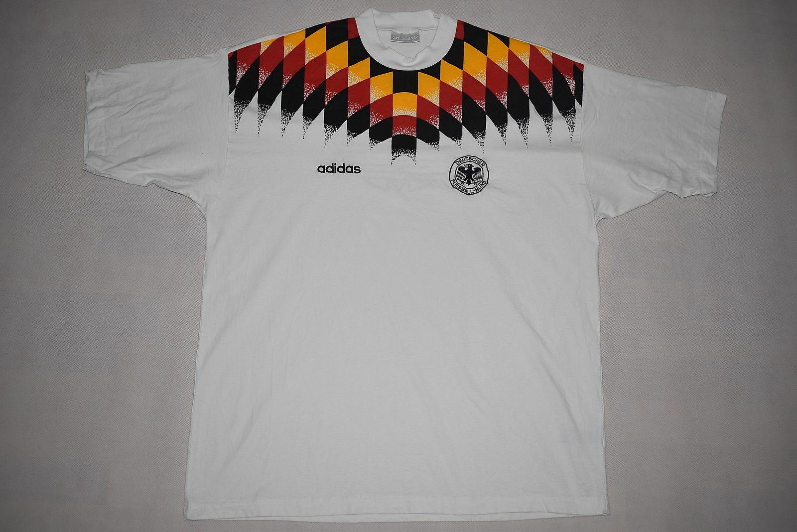 Jersey Trikot TShirt Weiß WM T Shirt Deutschland Adidas