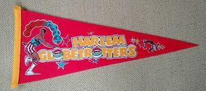 Vintage-Harlem-Globetrotters-Banner-Pennant-Flag-Basketball