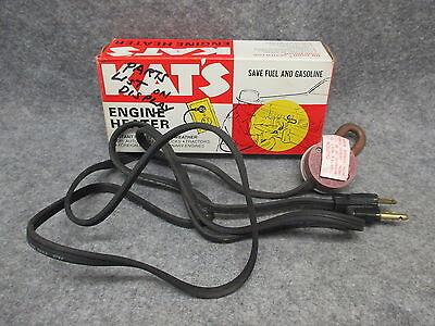 Kat/'s Frost Plug Engine Block Heater 41.5 mm K4E 400 Watts 120 Volts NOS 25243