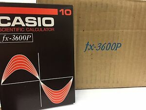 CASIO-PROGRAMMABLE-SCIENTIFIC-CALCULATOR-FX-3600P-1981-BRAND-NEW-JAPAN-RARE