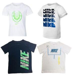 New Nike Little Boys Dri-FIT Graphic-Print T-Shirt SIZE 3T,4,5,6,7 MSRP:$18.00