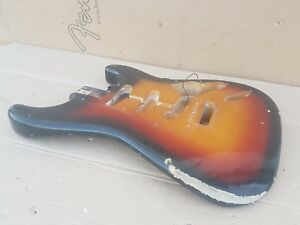 1983 Squier By Fender Stratocaster Jv Body'62-made In Japan-afficher Le Titre D'origine Texture Nette