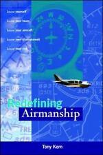 Redefining Airmanship by Tony Kern (1997, Hardcover)