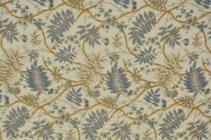 """4 & 7/8ths yards Cowtan & Tout Fontanges Upholstery Drapery Fabric 54"""""""