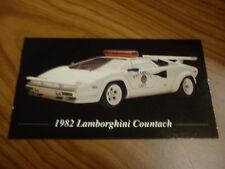 1982 Lamborghini Countach Emt Unit Photo Magnet Toolboxfridge Picture 82 Fits Lamborghini Jalpa