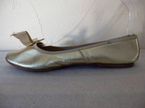 Marant Taglia 38 Dorate Isabel Ballerine Autentico dqHTdFw