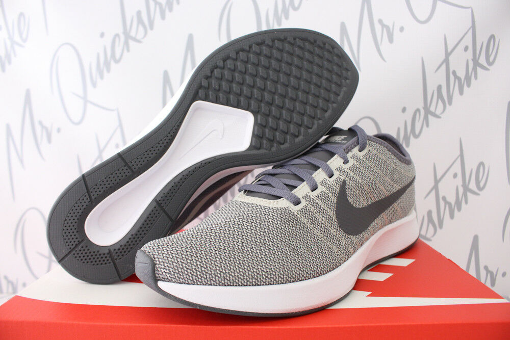 NIKE DUALTONE RACER SZ 10.5 PALE gris blanc RUNNING Chaussures 918227 003