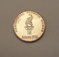 1996 Atlanta Olympic Games - RARE - 999 Silver Proof Medal - 1000 made -