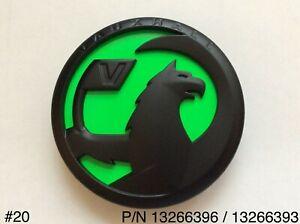 Vauxhall Insignia Rear Boot Tailgate Green & Matt Black Griffin Badge 13266396