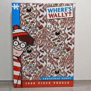 Ou-est-Wally-Fete-De-Noel-Puzzle-1000-pieces-Waldo-de-Noel-Martin-Hanford