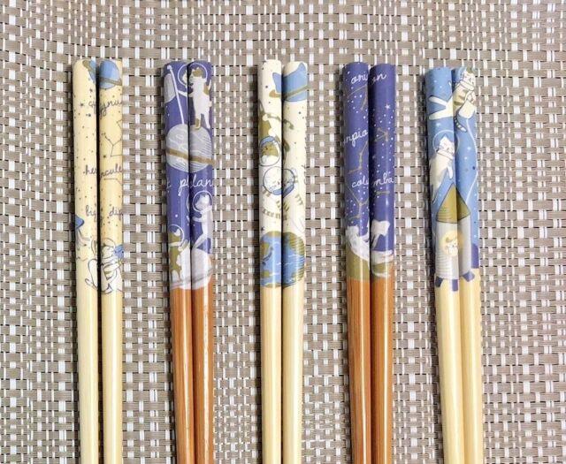 AU Chinese Japanese Handmade Natural Bamboo Chopsticks Gift 5 Pairs Deluxe Kit 6
