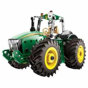 Jouet-Enfant-Tracteur-John-Deere-A-Construire-Meccano-Construction-Agricole-Neuf