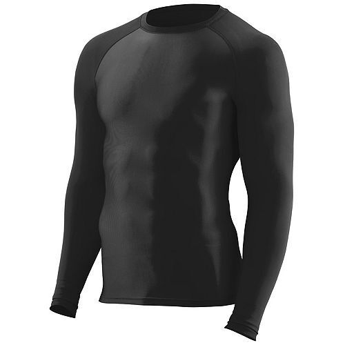 WICKING PERFORMANCE S-3XL LONG SLEEVE COMPRESSION T-SHIRT MEN/'S ULTRA TIGHT