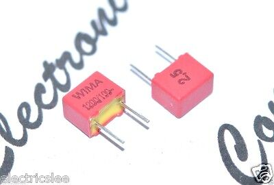 WIMA FKP2 2200P 100V 2.5/% pitch:5mm Capacitor 10pcs 2200pF 2,2nF