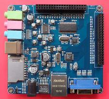 FPGA Expansion Board - USB/Sound/Ethernet/SD Card/VGA CY7C68013A/DM9000A/WM8731