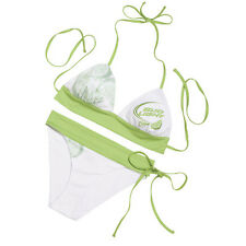 f709af50e8 Bud Light Lime Ladies 2 Piece String Bikini Polyester & Spandex Free  Shipping