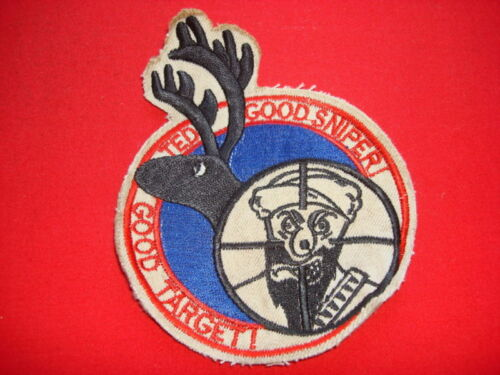 Commemorative Patch GOOD TARGET GOOD SNIPER m Killing Of Bin Laden