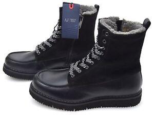 ARMANI-Jeans-Uomo-Inverno-Stivaletti-Pelle-Scamosciata-CODICE-6A414