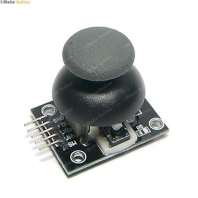 Analogue Joystick Controller - 5V With Click Button -  Arduino PI Compatible
