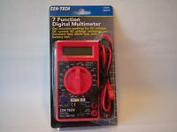 Cen-tech Seven Function Digital Multi-meter In Box