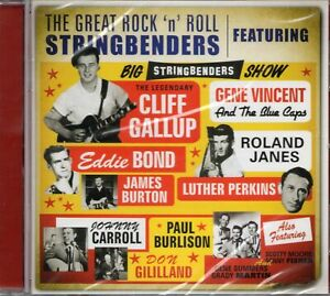 Gene-Vincent-amp-The-Blue-Caps-Chris-Gallup-Great-Rock-N-Roll-Stringbenders-CD