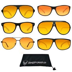 729b95bbba3 Image is loading HD-VISION-BLUE-BLOCKER-Sunglasses-Aviator-Driving-Golf-