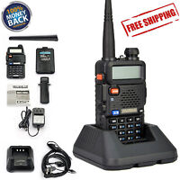 Handheld Radio Scanner 2-way Portable Digital Transceiver Ham Ems Police Antenna