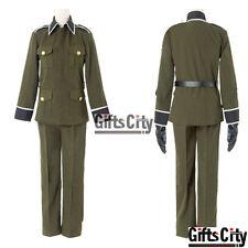 Axis Powers Hetalia Ludwig Germany Uniform Cosplay Costume COS Cloth