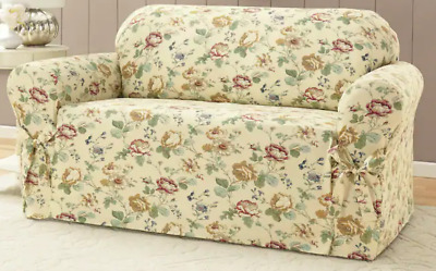 Pleasing Chantilly Sofa Cover Flowered New Vintage Look Ebay Machost Co Dining Chair Design Ideas Machostcouk