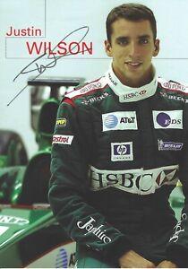 Autogrammkarte-Justin-Wilson-Formel-1-Jaguar-Racing-Jaguar-R4-2003