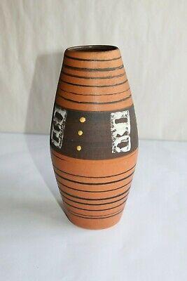 Deskundig Vase Vintage En Céramique Hauteur 22.5 Cm