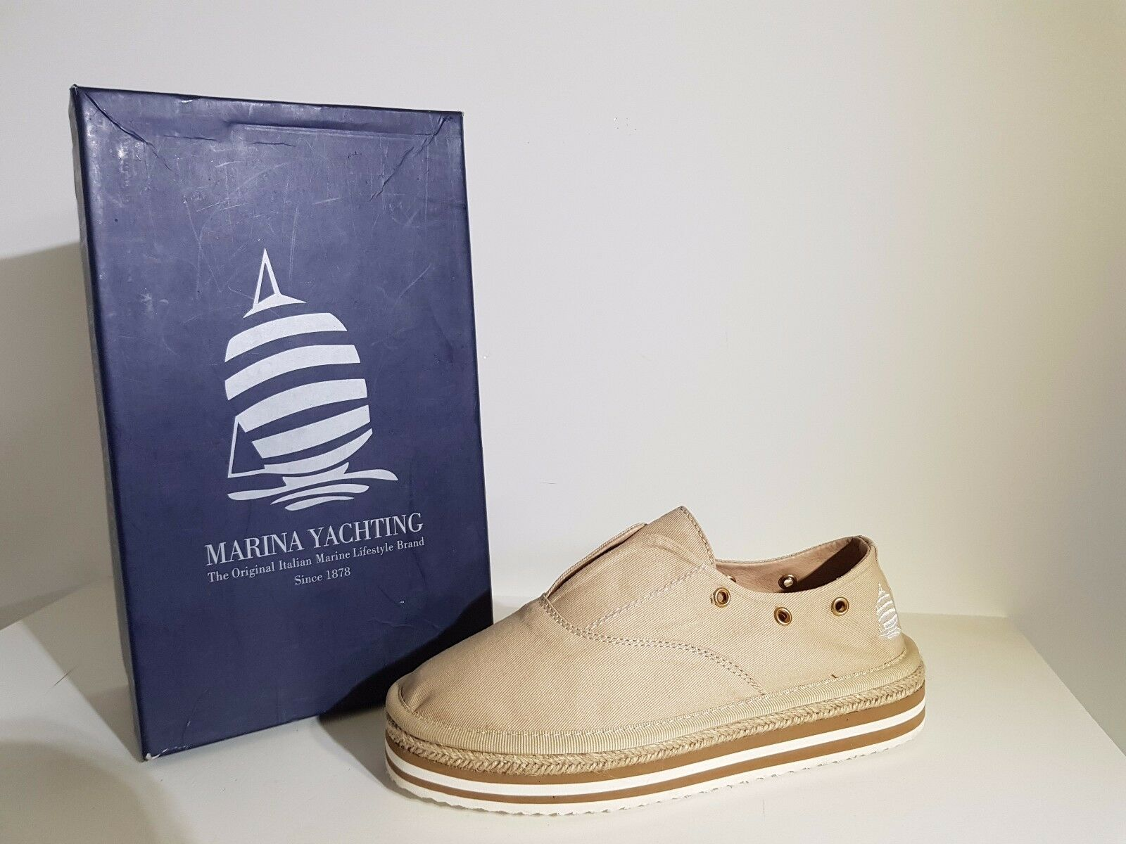 Chaussure Femmes Marina Yachting Remise -20% Art. 161.W661 VERSILISA coul. Beige