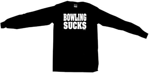 Bowling Sucks Mens Tee Shirt Pick Size /& Color Small 6XL