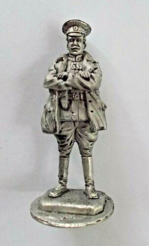 1//30 Russian Empire WWI Pilot Aviator Tin Metal soldier 70mm figure NEW handmade