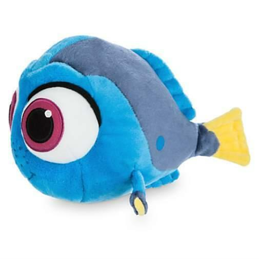 Disney Authentic Finding Nemo Baby Dory Plush 8 Stuffed Animal Toy