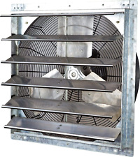 Iliving 24 Wall Mounted Exhaust Fan Automatic Shutter Variable Speed Ve