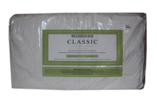 Mansours Classic Everyday Luxury Latex Low Profile Pillow RRP $89.95
