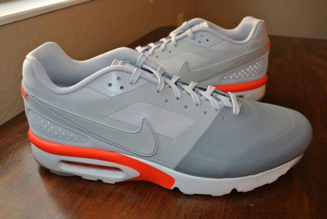 Men's Nike Air Max BW Ultra SE Size 13 Grey White Infrared