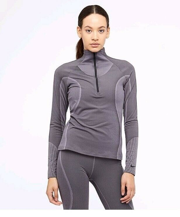 Nike Pro   Hyperwarm Women's Training Long Sleeve Top Grey 933294 010 SMALL  we offer various famous brand