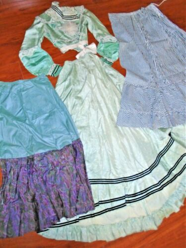 Antique Lot 4 Victorian 1890-1910 era Womens Top +