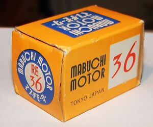 Mabuschi motor engine new box type re 36 15 45 volt ebay image is loading mabuschi motor engine new box type re 36 sciox Image collections