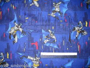 Batman-Cotton-Quilting-Fabric-Already-cut-pieces-to-choose