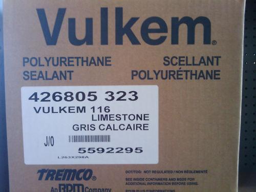 VULKEM 116 POLYURETHANE SEALANT CASE OF 30- 10 OZ TUBES